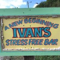 Photo taken at Ivan's Stress Free Bar by Benjamin D. on 12/27/2015