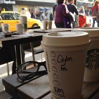 Photo taken at Starbucks by GüLçin Y. on 4/23/2013