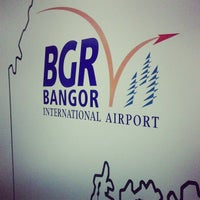 Photo taken at Bangor International Airport (BGR) by Tyler W. on 9/21/2013