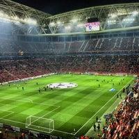 Photo taken at Türk Telekom Arena by Karahan S. on 10/23/2013