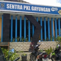 Photo taken at Sentra PKL Gayungan by Anggarda B. on 3/6/2013