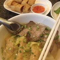 Photo taken at Li Fishball Noodle Restaurant by Rukteeruk P. on 12/20/2013