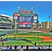 Photo taken at Comerica Park by Jonathan R. on 6/4/2013