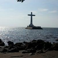 Photo taken at Sunken Cemetery Cross by Eunice P. on 6/23/2013