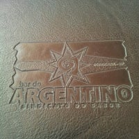 Photo taken at Bar do Argentino by Lu M. on 5/11/2013