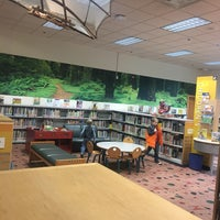 Photo taken at KCLS Shoreline Library by Amanda F. on 11/19/2016