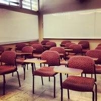 Photo taken at G. Homer Durham Language & Literature Building by Malena on 4/22/2013