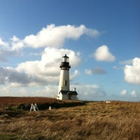 Photo taken at Yaquina Head Lighthouse by Michael H. on 11/21/2012