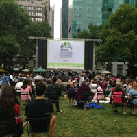 Photo taken at The Reading Room - Bryant Park by Jessica R. on 7/25/2013