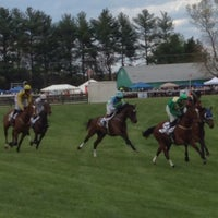 Photo taken at Foxfield Races by Stacy S. on 4/26/2014