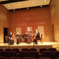 Photo taken at Center for Jewish History by Shay A. on 4/23/2013