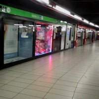 Photo taken at Metro Cadorna FN Triennale (M1, M2) by Aira on 7/8/2013