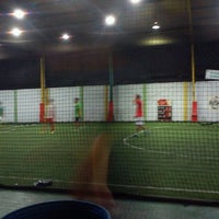 Photo taken at De Futsal by noboe o. on 10/3/2012