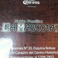 Photo taken at La Mascota by Daniel R. on 9/30/2013
