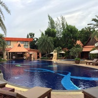Photo taken at Baan Grood Arcadia Resort and Spa by Mat W. on 9/22/2015