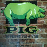 Photo taken at The Green Pig Pub by David L. on 9/26/2012
