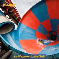 Photo taken at Yas Waterworld by Holiday F. on 9/2/2013