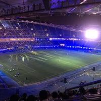 Photo taken at Jaber AlAhmad International Stadium by A.M.K 🇰🇼 ⚓️ 🇬🇧 on 9/23/2016