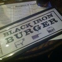 Photo taken at Black Iron Burger by Beto L. on 3/26/2013