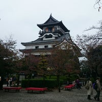 Photo taken at Inuyama Castle by pch on 11/2/2014