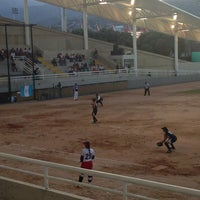 Photo taken at Canchas Panamericanas by Mario Mh27  on 7/27/2013