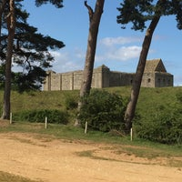 Photo taken at Castle Rising Castle by Paul S. on 8/16/2015