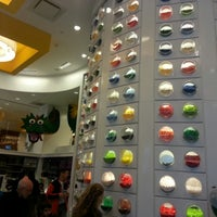 Photo taken at The LEGO Store by April C. on 4/11/2013