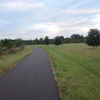 Photo taken at Joe's Creek Greenway Park by Cheryl A. on 11/17/2013