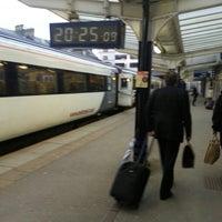 Photo taken at Harrogate Railway Station (HGT) by Spencer H. on 5/23/2013