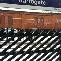 Photo taken at Harrogate Railway Station (HGT) by Spencer H. on 3/27/2013
