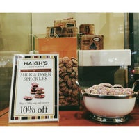 Photo taken at Haigh's Chocolates by J K. on 7/18/2013