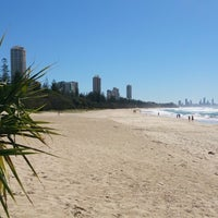 Photo taken at Burleigh Heads Park by Scott P. on 8/17/2014