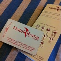 Photo taken at Hotel Roma by Toh R. on 5/21/2013