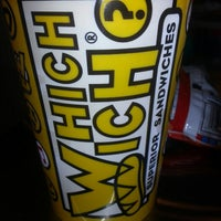 Photo taken at Which Wich? Superior Sandwiches by Elly B. on 5/3/2013