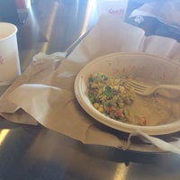 Photo taken at Qdoba Mexican Grill by Ashley on 1/27/2014