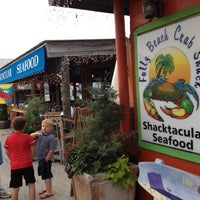 Photo taken at The Folly Beach Crab Shack by Chris H. on 5/29/2012