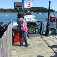 Photo taken at Bar Harbor Whale Watch Co. by Russ G. on 7/25/2013