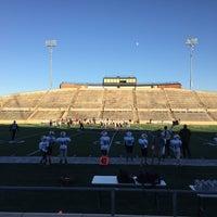 Photo taken at Tully Stadium by Oya F. on 11/22/2015