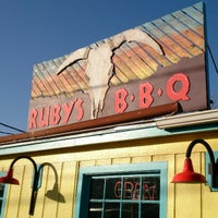 Photo taken at Ruby's BBQ by Markus E. on 3/12/2013