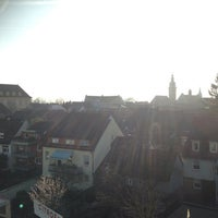 Photo taken at Altstadt Durlach by Omney P. on 3/9/2014