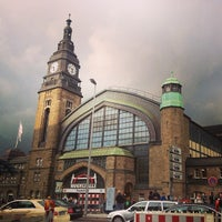 Photo taken at Hamburg Central Station by Yana A. on 9/27/2013