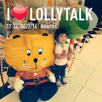 Photo taken at LollyTalk by Aaron W. on 3/31/2014