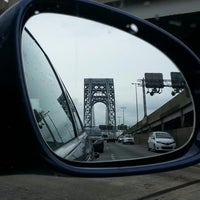 Photo taken at George Washington Bridge by Jeremy F. on 7/28/2013