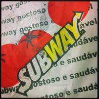 Photo taken at Subway by Felipe B. on 4/6/2013