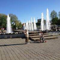 Photo taken at Сквер им. Дзержинского by Sergey N. on 5/29/2013