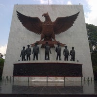 Photo taken at Monumen Pancasila Sakti by Guntur Frans G. on 1/16/2015