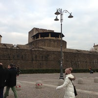 Photo taken at Fortezza da Basso by Noriyuki M. on 1/9/2013