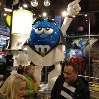 Photo taken at M&M's World by Casey C. on 2/16/2013