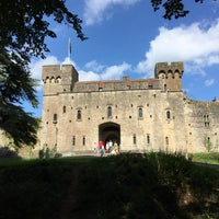 Photo taken at Caldicot Castle by Marcio D. on 8/29/2016