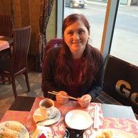 "Photo taken at ""Gold - Cafe"" Restorāns by Valeria L. on 9/30/2015"
